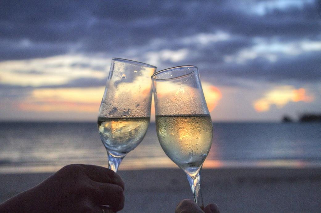 champagne y salud