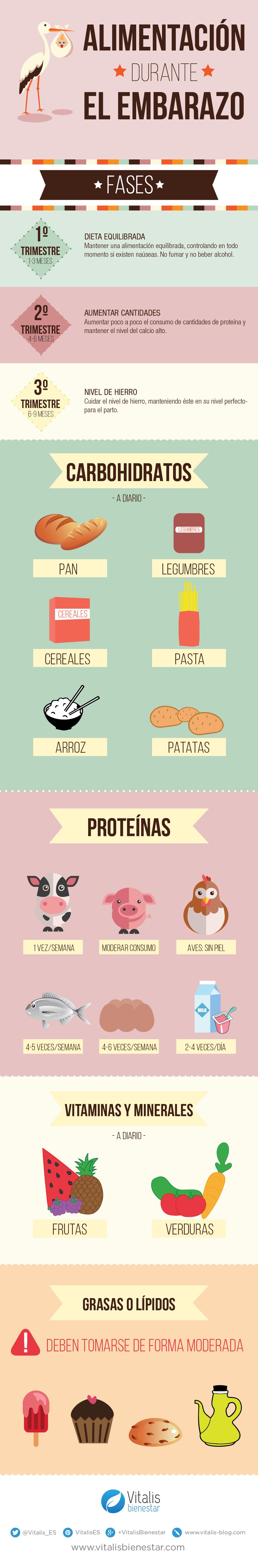 Vitalis bienestar alimentacion durante el embarazo