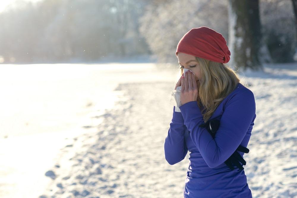 hacer ejercicio estando resfriado